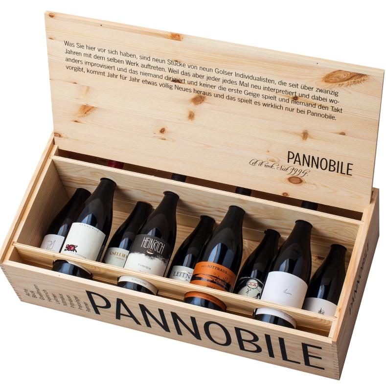 Pannobile Kiste offen